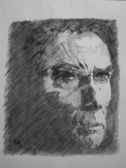 Clint Eastwood by danidian